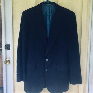 Neiman Marcus 💯% Cashmere Sportscoat Navy